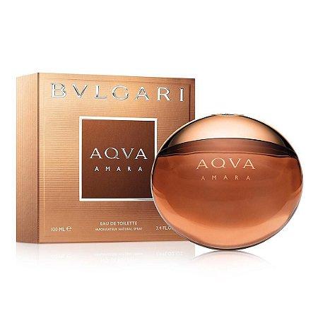 Perfume Aqva Amara Bvlgari Eau de Toilette Masculino 100 ml