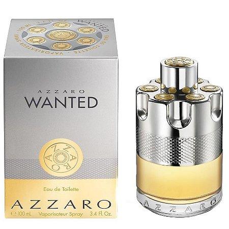 Perfume Importado Azzaro Wanted Edt 100ml - Azzaro Masculino