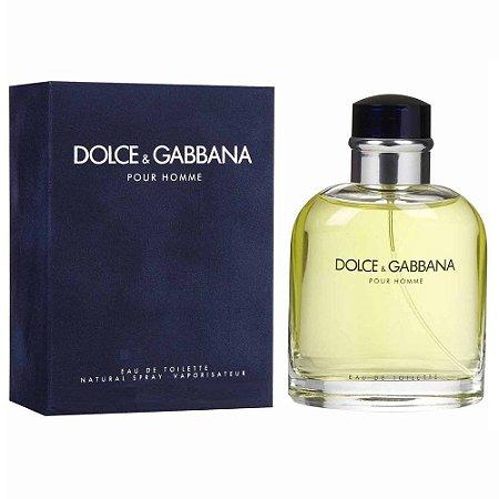 Perfume Pour Homme Dolce & Gabbana Eau de Toilette Masculino 125 ml