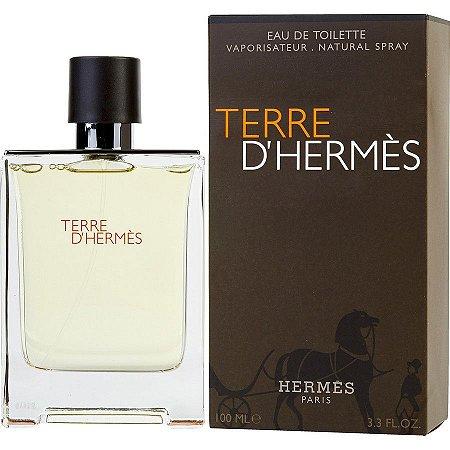 Perfume Terre D´Hermès Hermes Eau de Toilette Masculino 100 ml