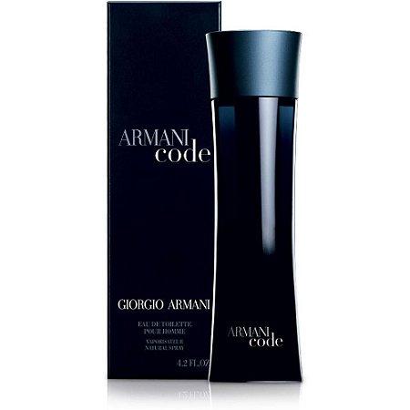 Perfume Armani Code Giorgio Armani Eau de Toilette Masculino 125 ml