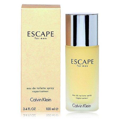 Perfume Escape For Men Calvin Klein Eau de Toilette Masculino 100 ml