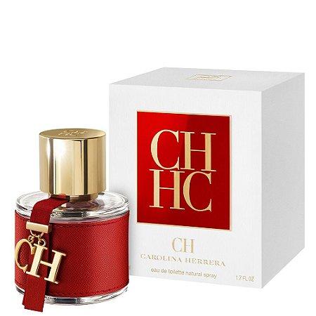 Perfume CH Carolina Herrera Eau de Toilette Feminino 50 ml
