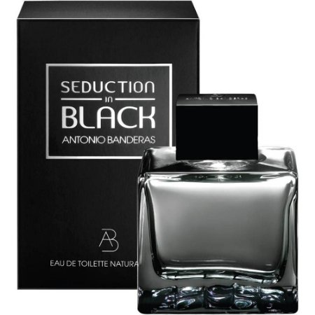 Perfume Seduction in Black Antonio Banderas Eau de Toilette Masculino 200 ml
