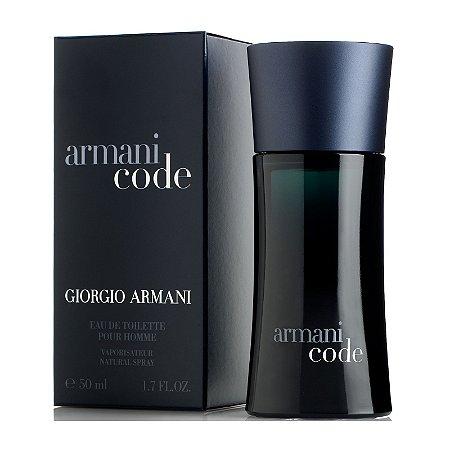 Perfume Armani Code Giorgio Armani Eau de Toilette Masculino 50 ml