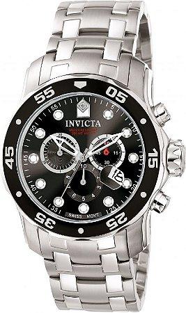 Relógio Invicta Masculino Pro Diver Dourado Modelo 0069