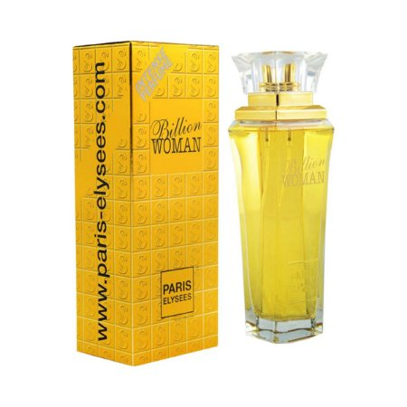Perfume Importado Billion Woman Edt 100ml - Paris Elysees Feminino