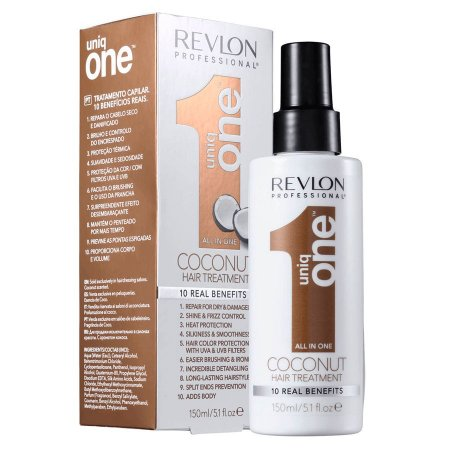 Creme Leave In Uniq One Coconut 150ml Tratamento Capilar - Revlon Professional