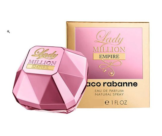 Lady Million Empire Edp 80ml Paco Rabanne Perfume Importado Original Feminino