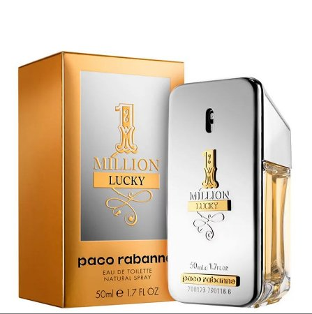 1 Million One Lucky Edt 50ml Paco Rabanne Perfume Importado Original Masculino