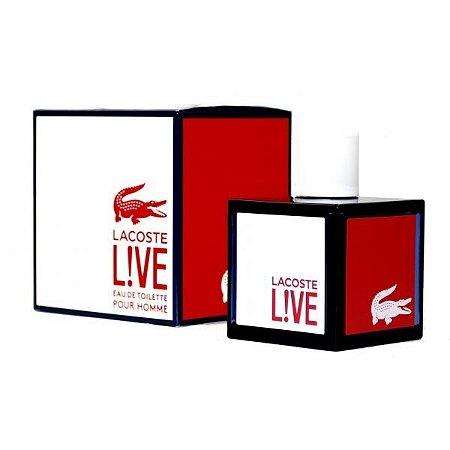 Perfume Live Lacoste Eau de Toilette Masculino 100 ml