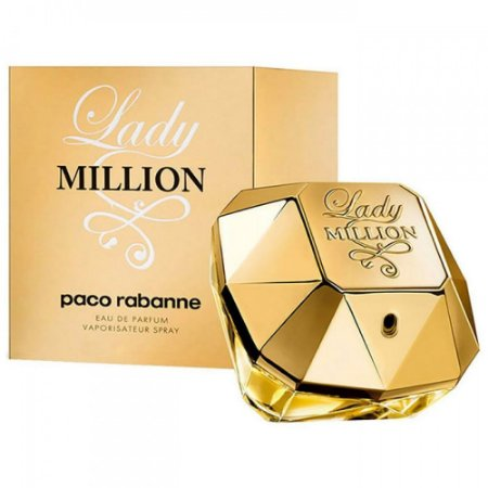 Perfume Lady Million Paco Rabanne Eau de Parfum Feminino 80 ml