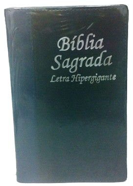 Bíblia letra hipergigante sem harpa