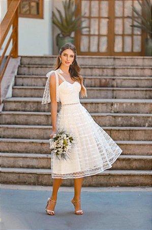 Vestido Midi Doce Maria Bia