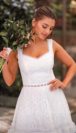 Vestido Midi Doce Maria Juliana