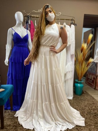 Vestido Frente unica Samira