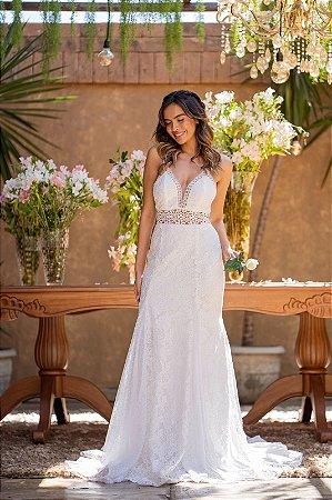 Vestido Longo Noiva Doce Maria