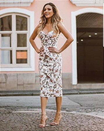 Midi Floral Anne Fernandes