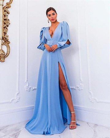 Vestido Tiana com cinto