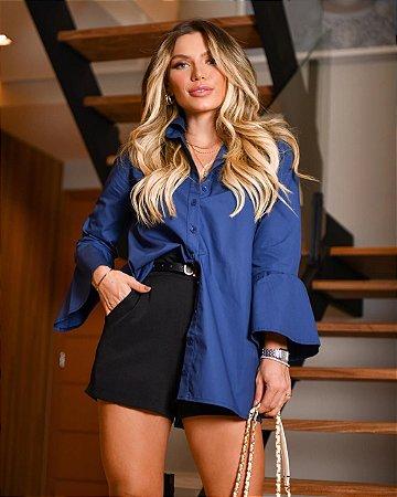 Maxi Blusa com botões Dot Clothing
