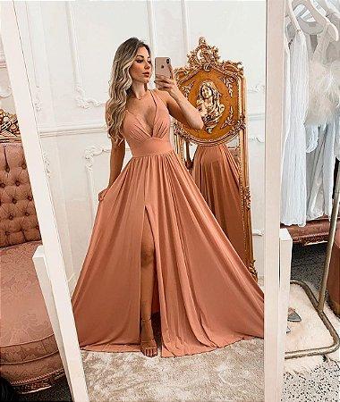 Vestido longo Monique