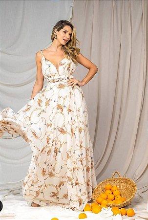 Vestido Estampa Florence