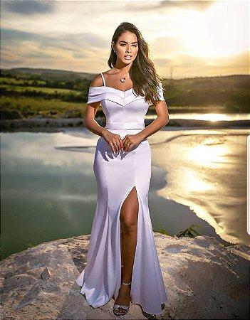 Vestido longo Luara
