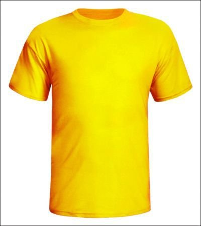 Camisa Amarela Gema Personalizada
