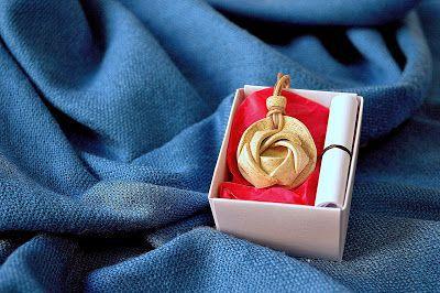 Difusor de aroma pessoal - Rosa Flor