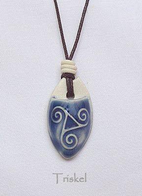 Triskel - difusor de aroma pessoal - Azul