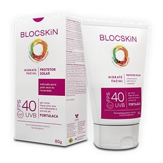 BLOCSKiN HIDRATE FPS 40 com Portulaca - Facial