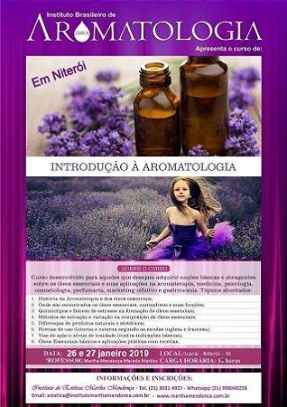 Inscrição - Curso Introdução à Aromatologia IBRA