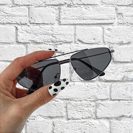Óculos de Sol Sunglasses Retro Preto