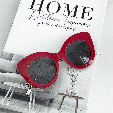 Óculos de Sol Sunglasses Maxi Vermelho