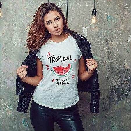 Camiseta Tropical Girl