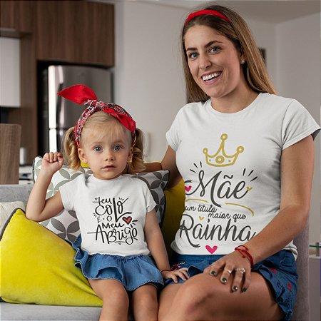 Camiseta Tal Mãe Tal filha: Mãe rainha