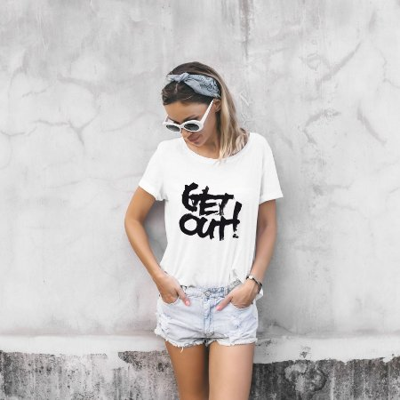Camiseta Get Out