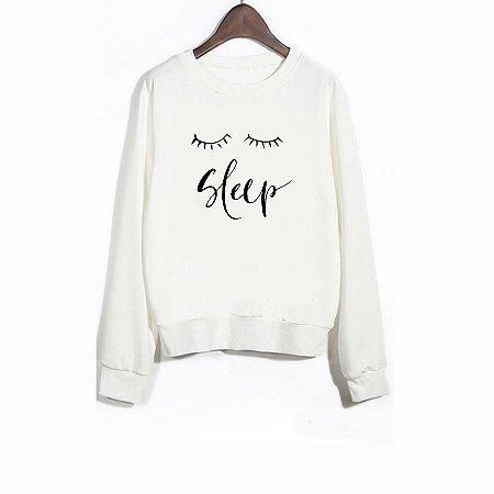 Moletom Peluciado Sleep