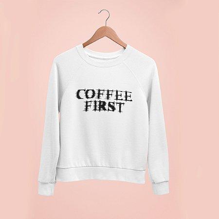 Moletom Peluciado  Coffe First