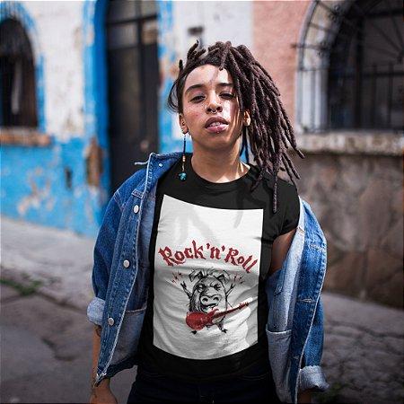 T-Shirt Preta Rock