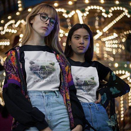 T-Shirt  Preta Urso