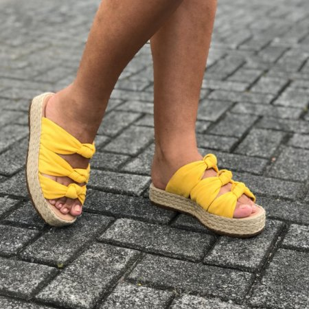 Tamanco Candy Amarelo