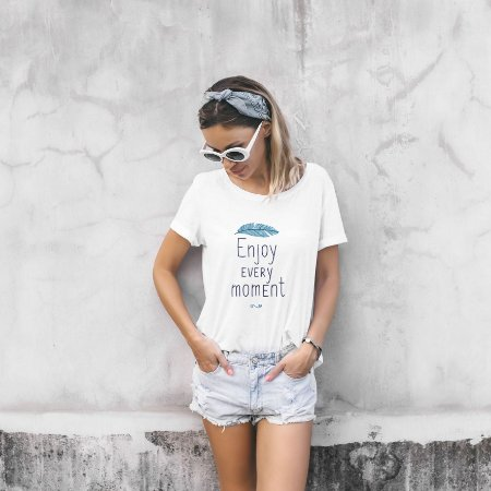 Combo T-shirts Preta e Branca