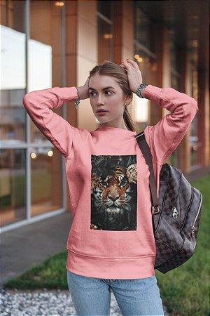 Moletom Peluciado Rosa Lion