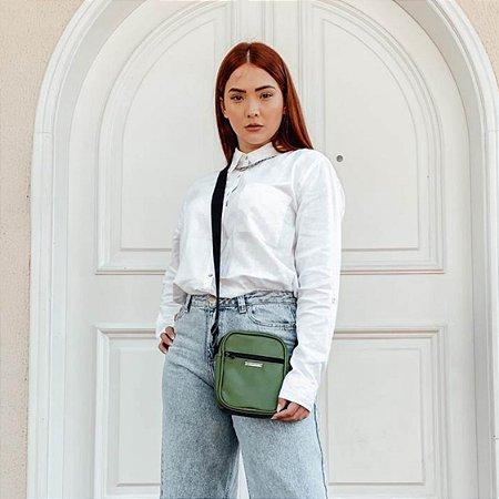 Bolsa Shoulder Bag Unissex Verde Musgo