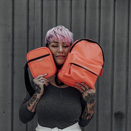 Shoulder Bag Unissex Salmão