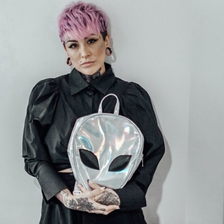 Mochila Holográfica Alien