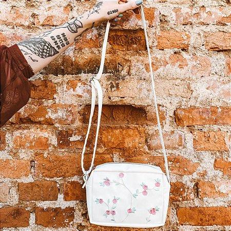 Bolsa Shoulder Bag Floral bordada