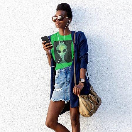 T-Shirt Verde Alien Verde