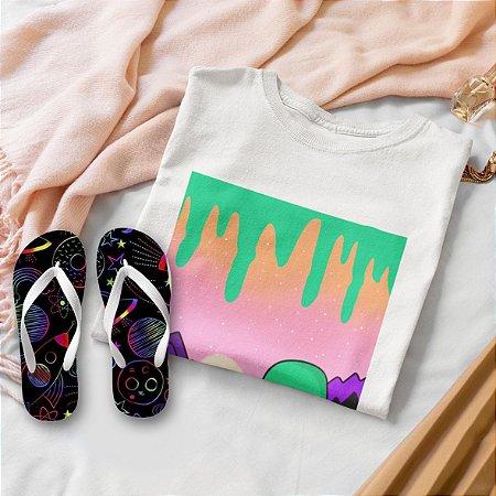 Combo Alien: T-shirt  + Chinelo